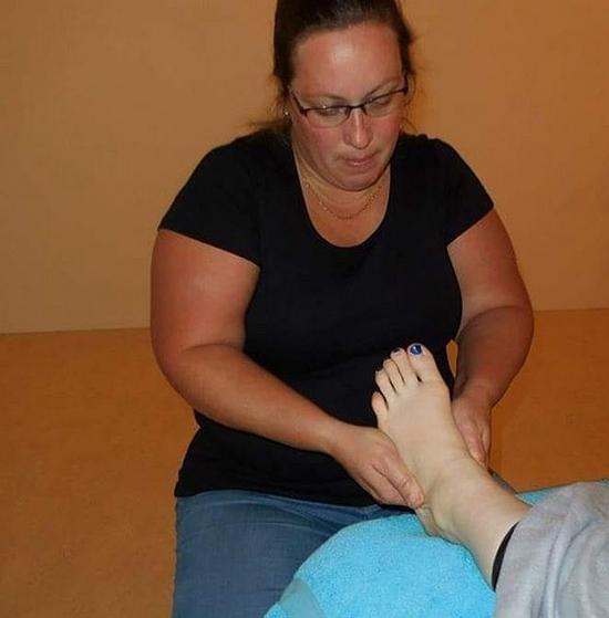 Workshop hand en voetmassage gevolgd